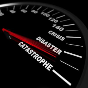 Speeding Toward a Catastrophe